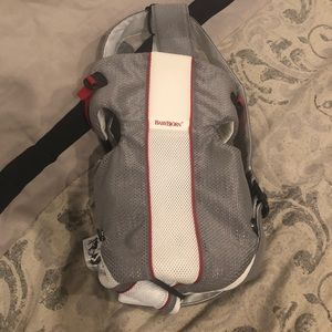 Other - Baby Björn carrier - gray and white